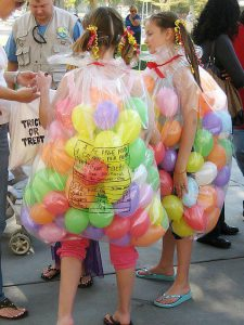 Bag-Jelly-Beans & Save money by making your own Halloween Costume. - Bridge Credit Union